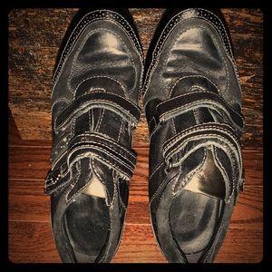 Geox platform sneakers
